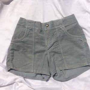 Corduroy west coast shorts